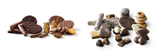 نمونه محصول دستگاه اینروبر شکلات